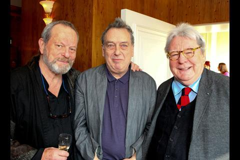 Terry Gilliam, Stephen Frears, Alan Parker